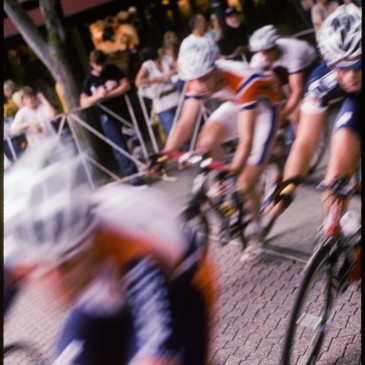 Shooting the Criterium in Kodachrome