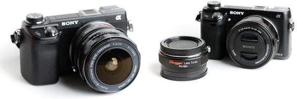 Lens Turbo for Pentax Lenses on NEX