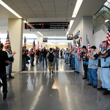 Welcome Home Petty Officer Nicole Diviny, U.S. Coast Guard