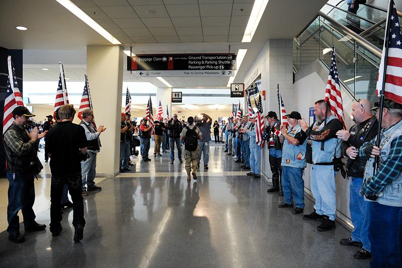 Welcome Home Petty Officer Nicole Diviny, U.S. Coast Guard