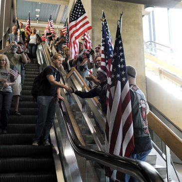 Welcome Home Corporal Jeremy Messner, USMC