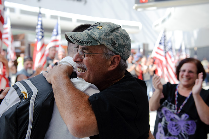 Welcome Home Staff Sergeant Michael Wexler, U.S. Army