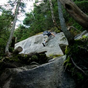 Climbing Upper Wolfjaw
