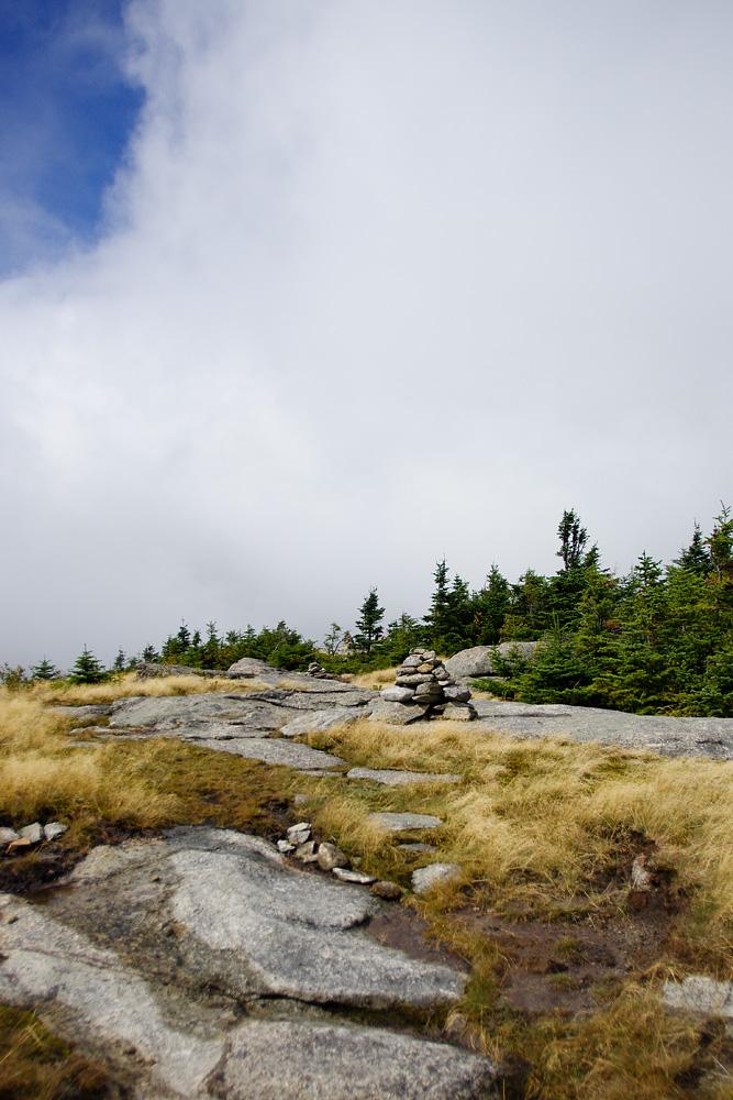 At Rocky Peak Ridge's summit