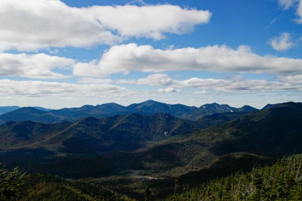 View of Colvin and Great Ranges
