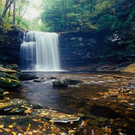 Ricketts Glen On Kodak E100VS