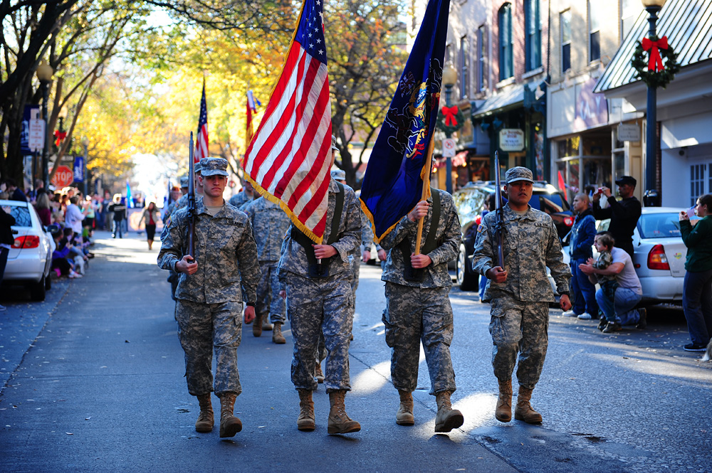 West Chester Veterans Day Parade 2012