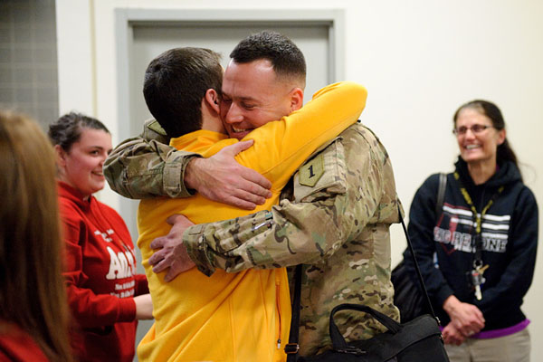 Welcome Home Lieutenant Shane Clair, U.S. Army