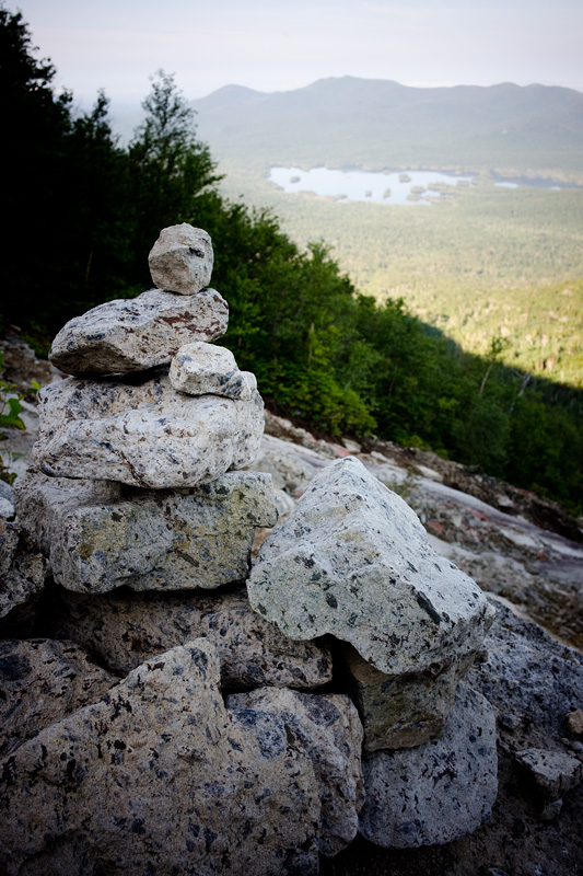 Cairn on the Macomb Slide