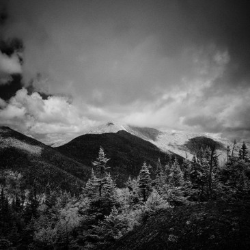 Infrared view of Dix Mountain from East Dix (Grace)