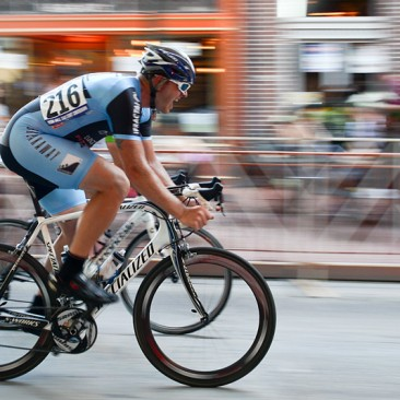 West Chester, PA: At the men's amateur race during the West Chester Iron Hill Twilight Criterium, Saturday July 6, 2013.