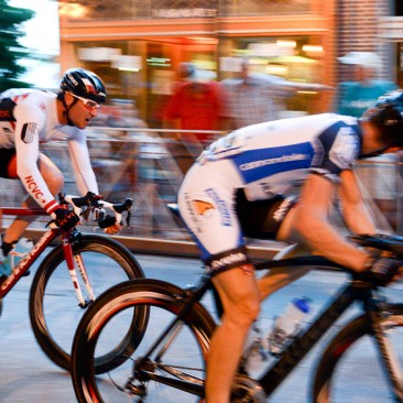 West Chester, PA: At the men's professional race during the West Chester Iron Hill Twilight Criterium, Saturday July 6, 2013.