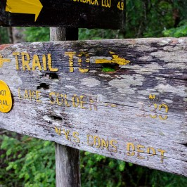 Mount Marshall via Indian Pass