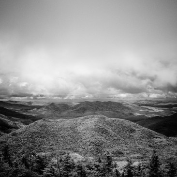 View from Marshall (infrared)