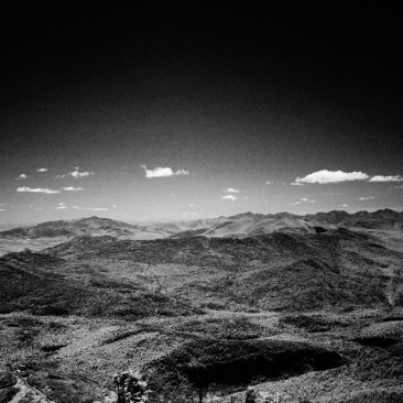 Looking southeast from Whiteface (infrared)