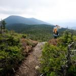 Heading down Panther Peak