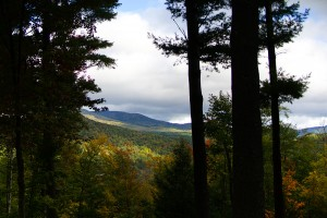 View of Hurricane Mountain from Random Scoots
