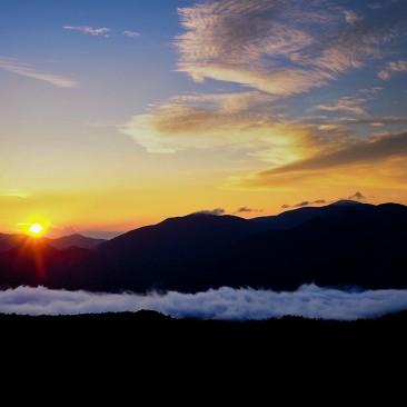 Sunrise over Hurricane