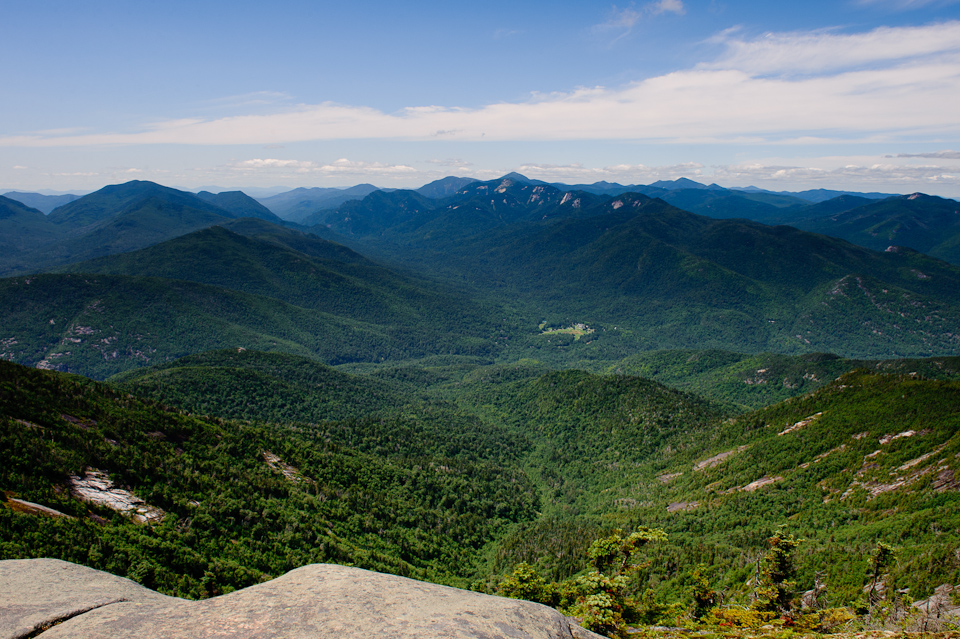 View across the Keene valley