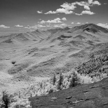 View from the summit (infrared)