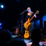 Philadelphia, PA: Nataly Dawn plays the bass at the Pomplamoose show at World Cafe Live, Friday September 26, 2014.