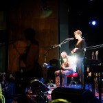 Philadelphia, PA: Nataly Dawn and Jack Conte play at the Pomplamoose show at World Cafe Live, Friday September 26, 2014.