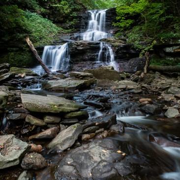 Tuscarora Falls / Voigtlander 15mm