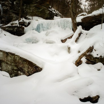 B. Reynolds Falls, Ricketts Glen in Winter