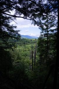 Brief lookout towards Keene Valley