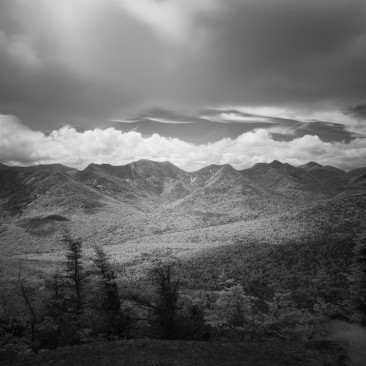 The Great Range from Big Slide (infrared)