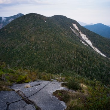 Saddleback and the Gothics 'cable route', Adirondack Park, New York.