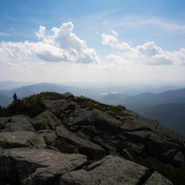 View south over Haystack, Adirondack Park, New York.