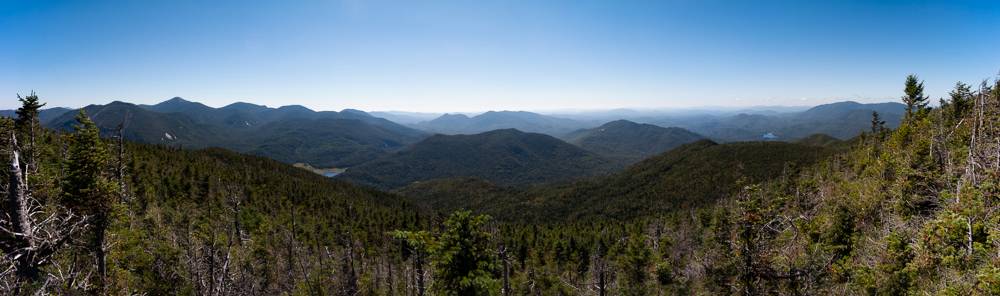 Panorama from atop Mount Marshall