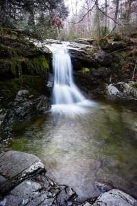 Waterfall along the Gill Brook