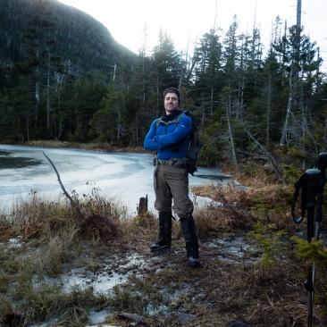At the foot of Elk Pass
