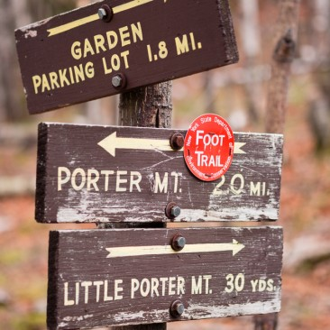 Junction for Little Porter Mountain