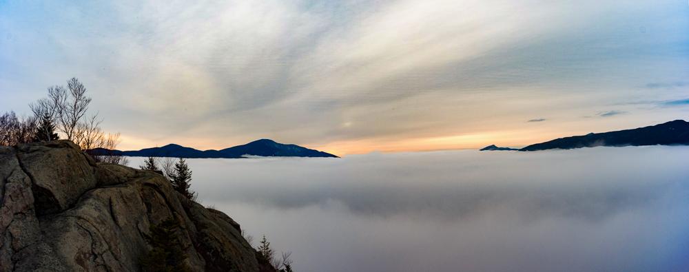 Porter Mountain and Little Porter Mountain