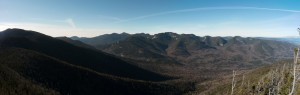 Panoramic view from Dial Mountain