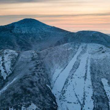 Iroquois, Algonquin & Wright Peaks (Winter)