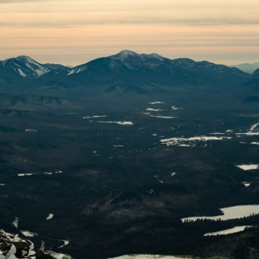 View of Algonquin Peak from Whiteface Mountain