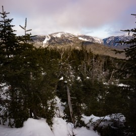 View of Mount Redfield from Allen Mountain.