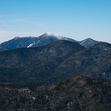 The MacIntyre Range: L-R Iroquois, Algonquin, and Wright, from Armstrong