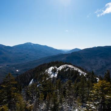 Looking back toward Giant Mountain