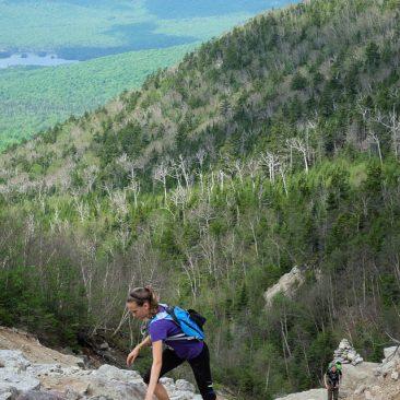 Ascending the Macomb Slide