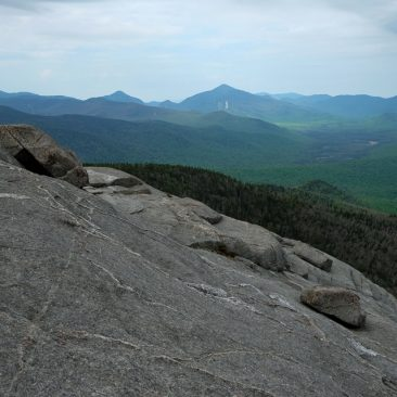 Colden (l) and Algonquin (center) from Cascade