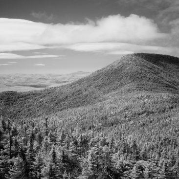 Santanoni Peak from Panther (infrared)
