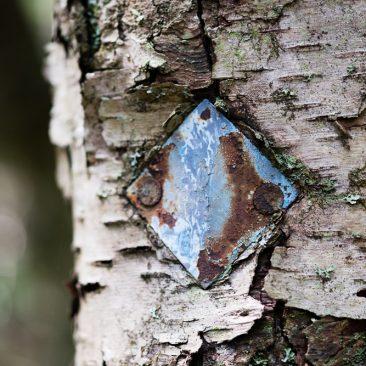 Old trail marker