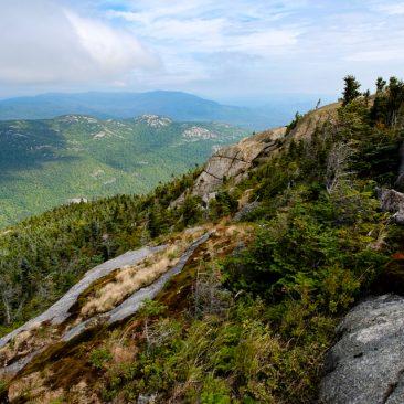 Cascade summit northeast view over Owl's Head