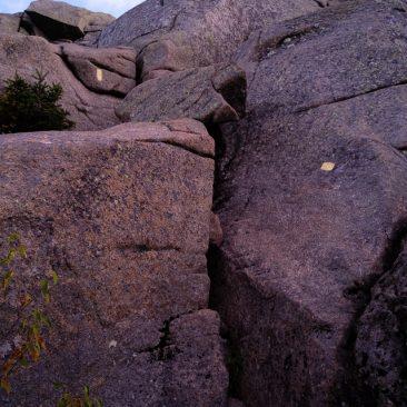 Saddleback's 'cliffs'