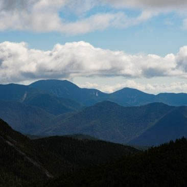 Nippletop (left) and Colvin Range; Dix Range (rear)